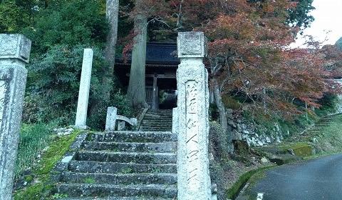 岩戸寺前景